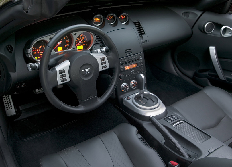 nissan 370z interior pictures vs 350z interior