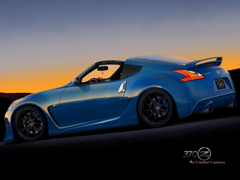 Z Hardtop convertible concept - Nissan Forum | Nissan Forums