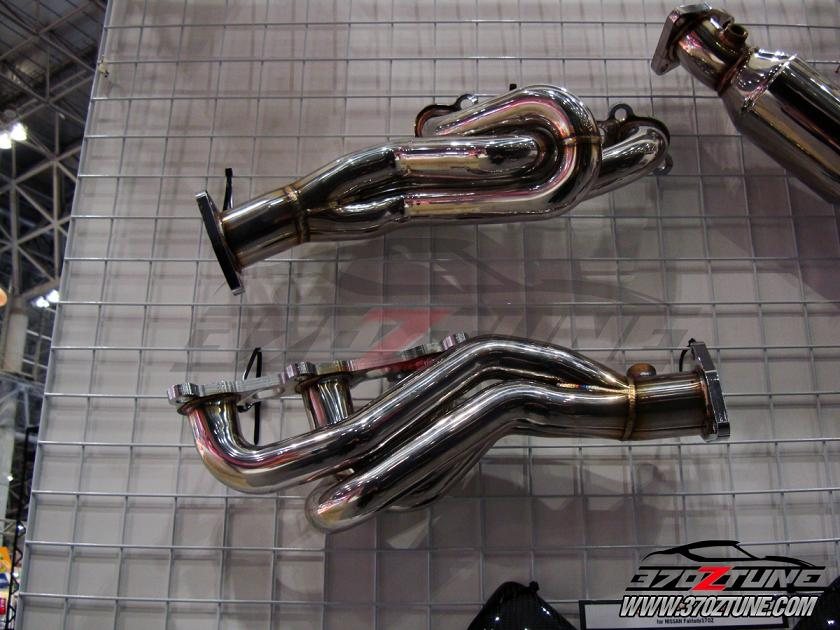 New Zele SS Headers and cat converter for Nissan 370Z Z34