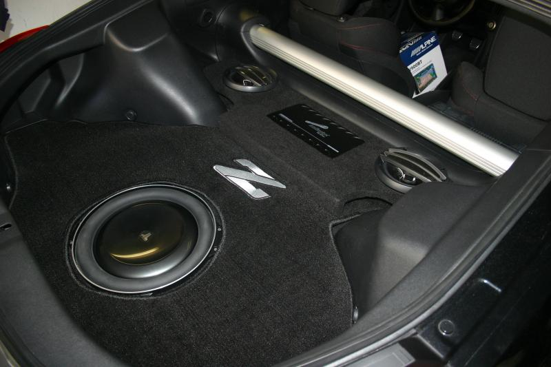 Wicked Cas 370z Stealth Magic Box Subwoofer Enclosure Sub