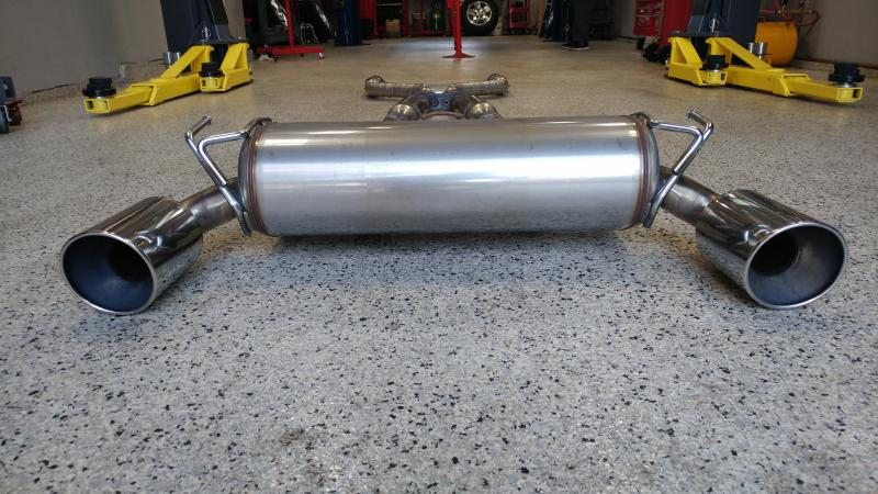 2012 Nismo 370Z Exhaust