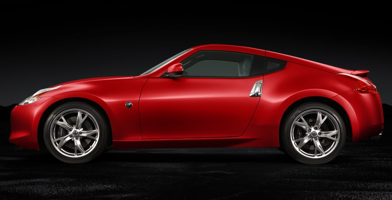 Official Nissan 370Z colors from NissanUSA 11 22 08 - Nissan