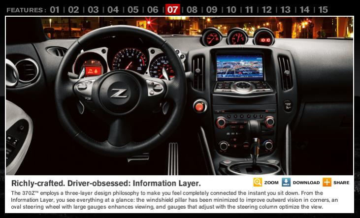 Nissan 370z Interior Pictures Vs 350z Interior Nissan