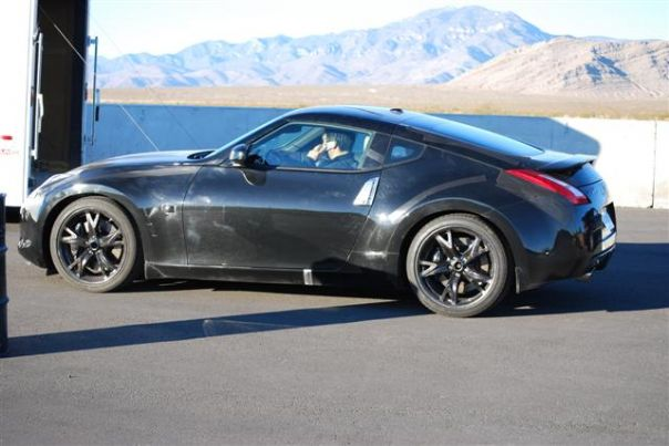 Nissan 370Z leaked picture from Cleveland, OH track 11.10 ...