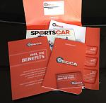 SCCA membership packet!