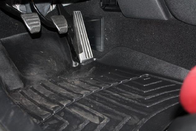 July '13: WeatherTech FloorLiner (Driver's side).