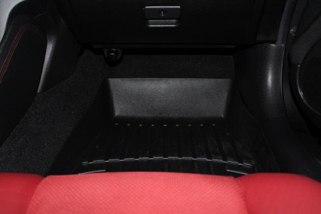 July '13: WeatherTech FloorLiner (Passenger's side).