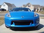 2009 Monterey Blue 370z