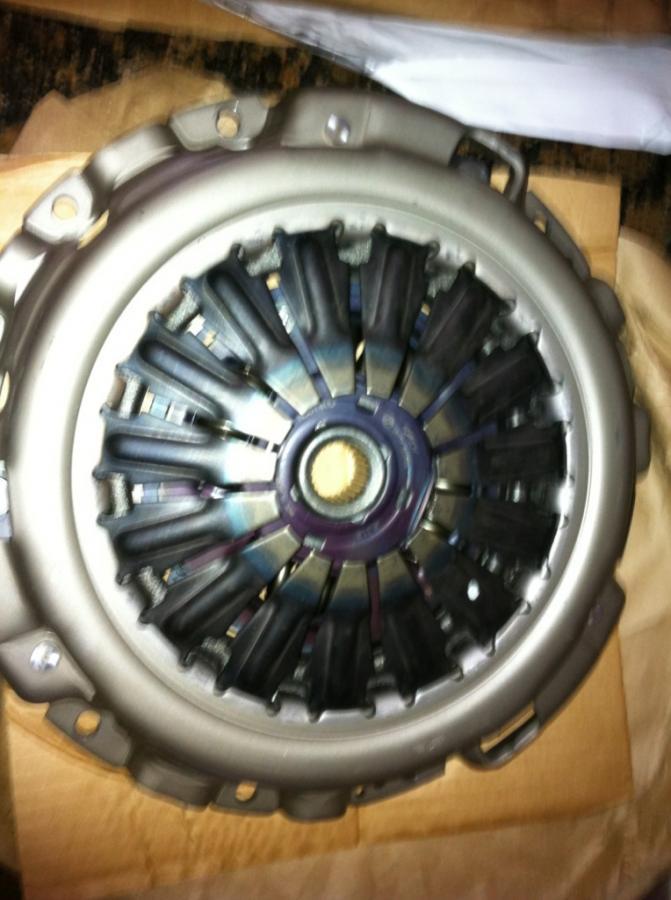 New pressure plate