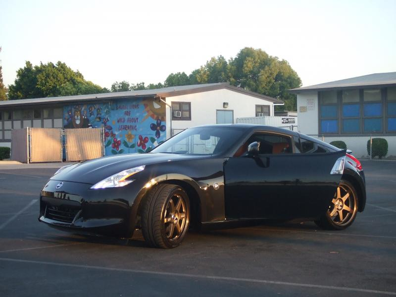 my black 09' 370z.