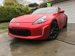 My Passion Red Tricoat 2020 370Z - First Pics