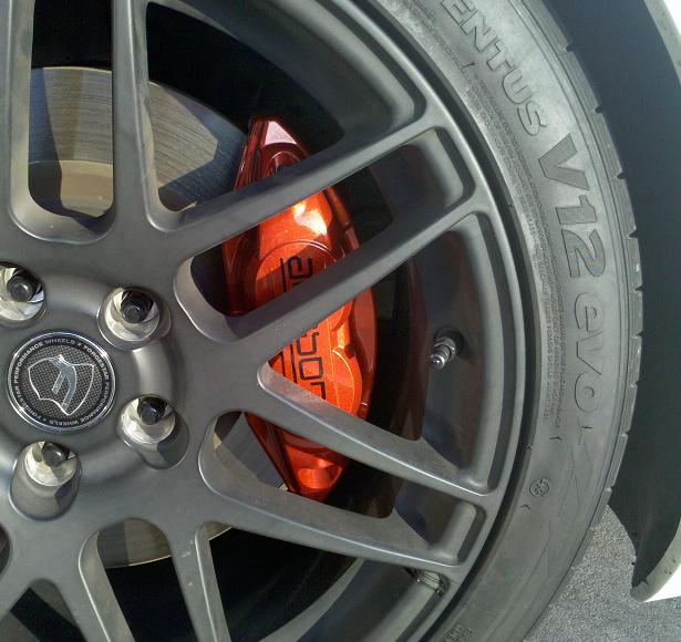 Nissan Z Touring Brake Calipers