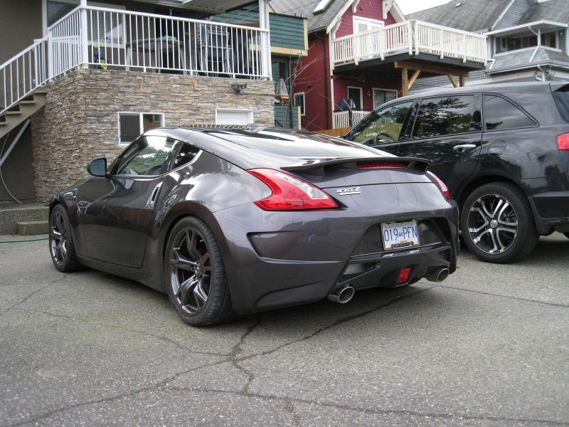 Spacers On Stock Rays With 295 S Nissan 370z Forum