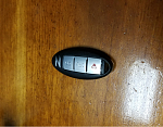 Now snap you key fob closed starting ant the Z end and being careful to close it correctly.  Do not rush this step.  If you had trouble go back and...