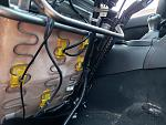 All the wires seen here will need to be removed carefully from the factory seat.  The Seat itself holds the Airbag, the occupant sensor and the...