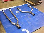 Meisterschaft Mid-pipe and Y-pipe