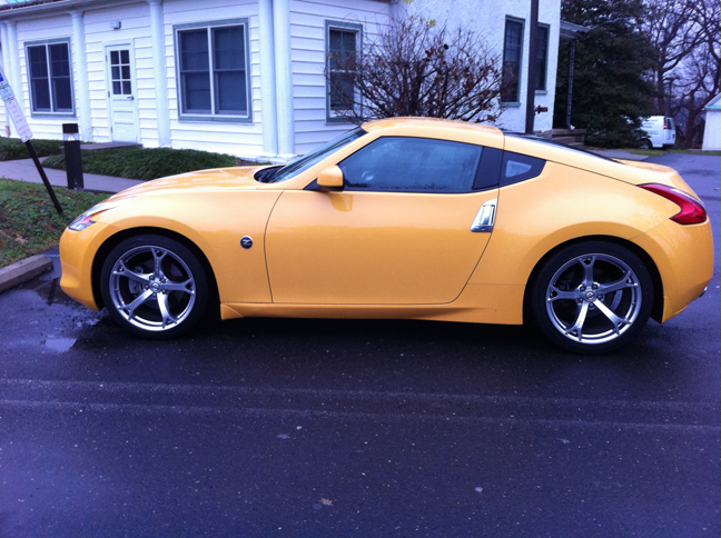 DeEePiDDy's 09 Chicane Yellow 370z Journal