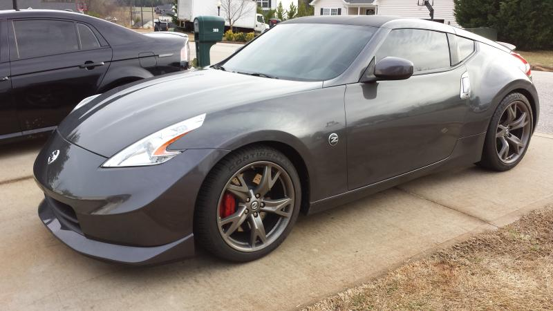 370Z For Sale 2010 40th anniversary 370z 38,000 miles with front ...