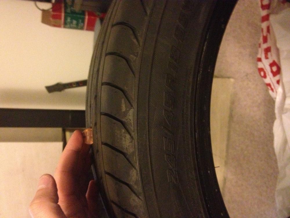 rear tire side