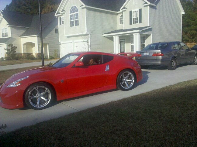 370z for sale 2010 red nismo nissan 370z forum. Black Bedroom Furniture Sets. Home Design Ideas