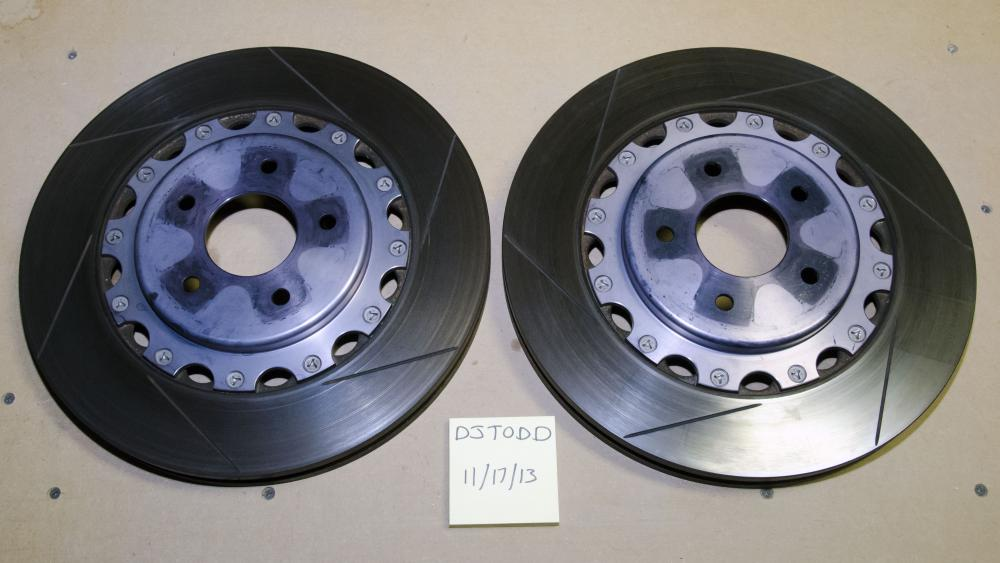 For Sale] Complete Akebono Setup, Two sets of rotors  SS
