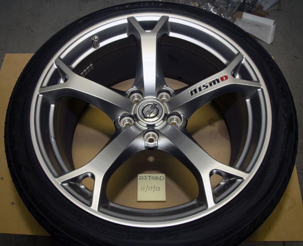 for sale 2012 nismo wheels tires tpms mint condition. Black Bedroom Furniture Sets. Home Design Ideas