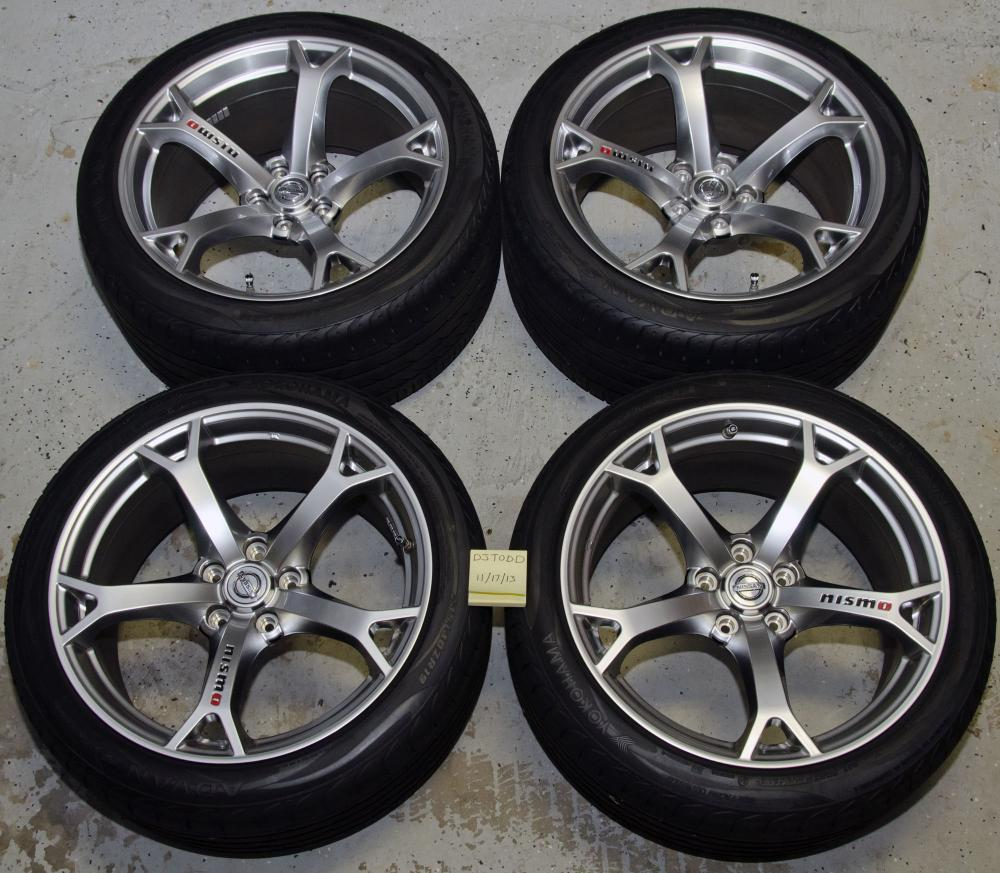 For Sale 2012 Nismo Wheels Tires Tpms Mint Condition