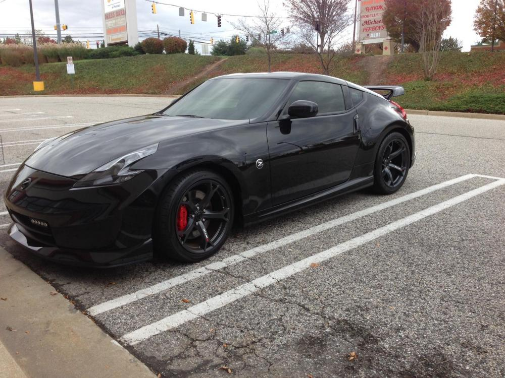 Nissan 370z Blacked Out