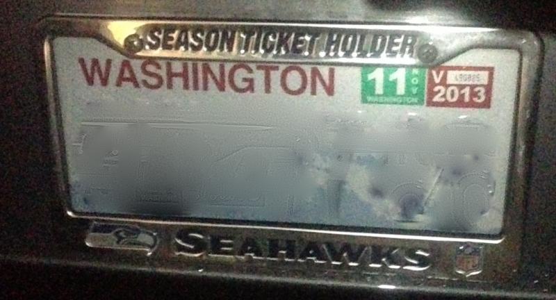 Nismo License Plate Frame