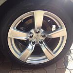 "F.S:  Base Model 18"" Wheels & Tires"