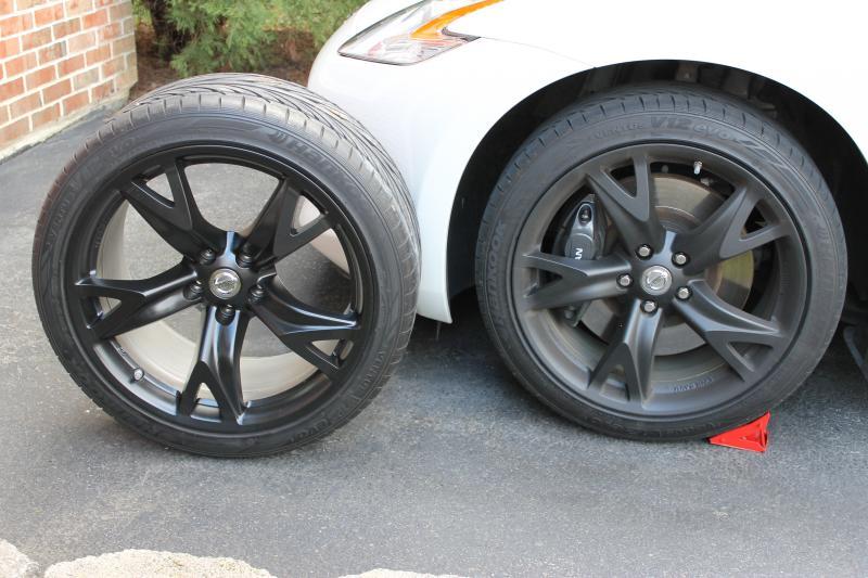 Nissan 370Z Forum - DufDaddy's Album: PastiDip Wheels Matte