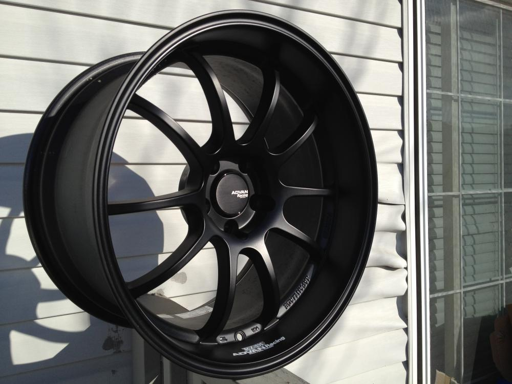 Advan RZ-DF Matt Black, 19x10.5