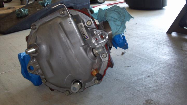 Rear Differential Cooler Kits : Gtm differential cooler kit install anyone done this