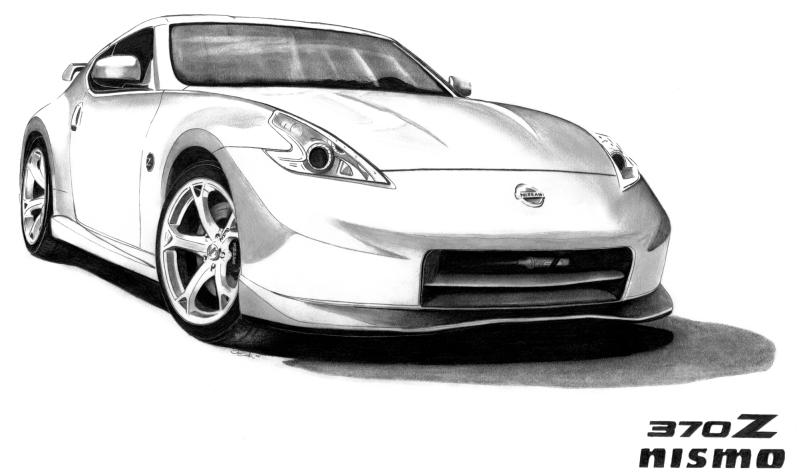 nismo artwork by jim smith nissan 370z forum