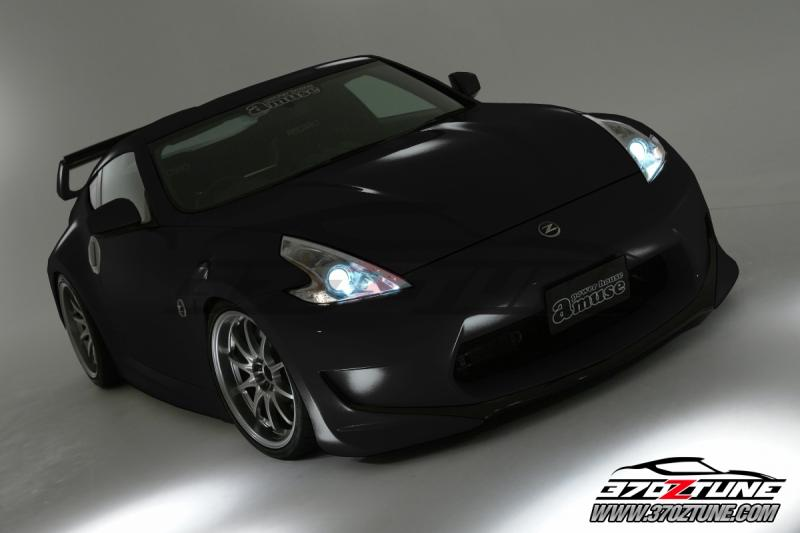 Nissan 370z Aftermarket Parts 800 x 533 · 31 kB · jpeg, 370Z Amuse Body Kit source: http://www ...