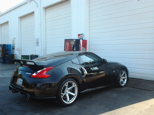 Tinting The Small Portals Nissan 370z Forum