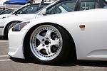 white honda s2000 work meister wht 3pc