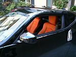 I love the persimmon interior.  I wasn't so sure at first, but when I saw it in person I had to have it.