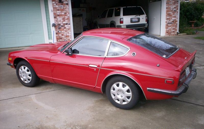 1972 240Z... I didn't have this one very long.  It was in really bad shape and had major rust issues.  I will eventually get another 240 when I have the time to restore it.