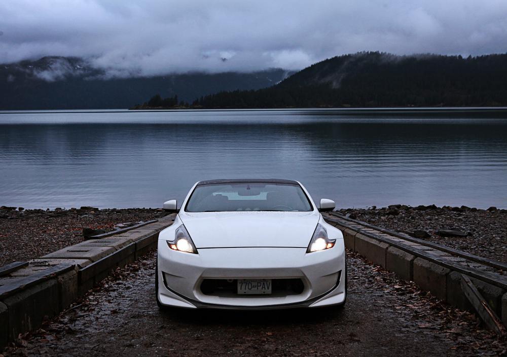 amuse front bumper license plate?? - Nissan 370Z Forum