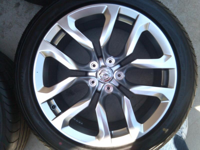370z 18 inch wheels and tires nissan forums nissan forum. Black Bedroom Furniture Sets. Home Design Ideas
