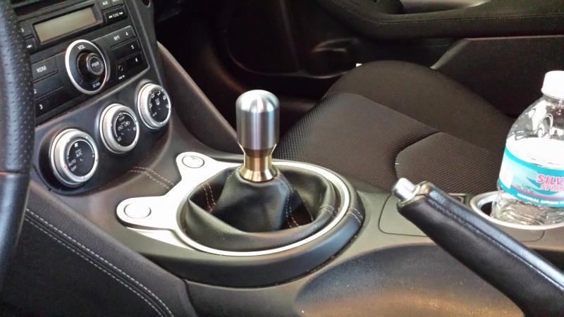Custom LatheWerks shift knob - check it out! - Nissan 370Z Forum