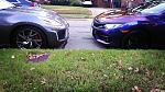 jewelz and my DD Skittles 2016 Civic turbo