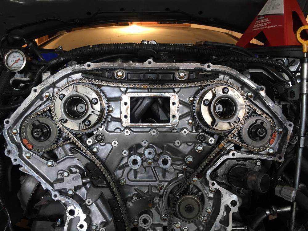 [SCHEMATICS_4FD]  VQ37vhr timing chain - Nissan 370Z Forum | 370z Engine Diagram |  | Nissan 370Z Forum