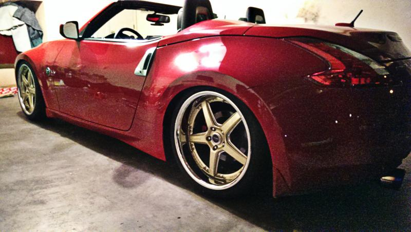 "Vertini 20"" Drifts On 370z"