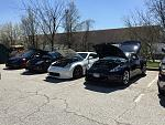 Annual AAM Open House, close to 70 cars on hand!