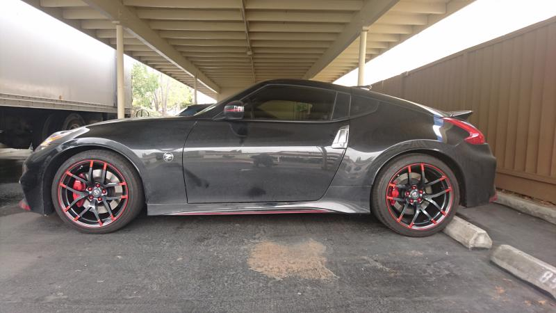 lug nuts on 2015+ Nismo wheel - Nissan 370Z Forum