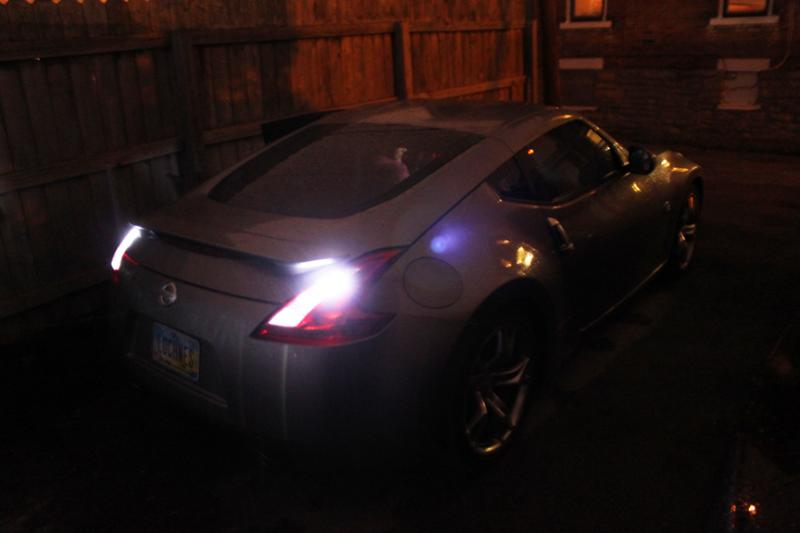 Reverse Lights - Nissan 370Z Forum