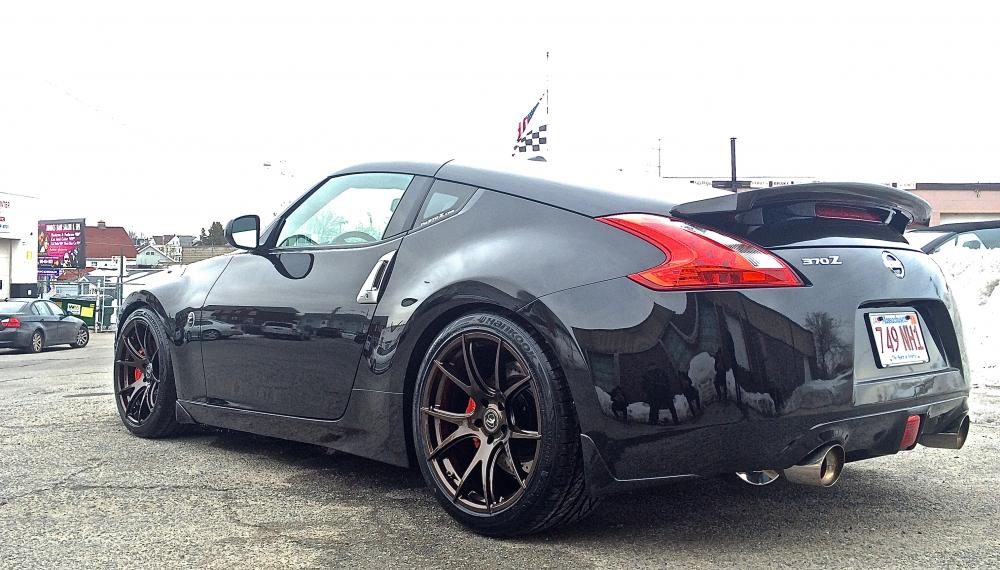 nissan 370z forum mag black 39 s album new shoes for my lady picture. Black Bedroom Furniture Sets. Home Design Ideas