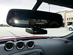 Escort Radar Detector with Blend Mount and Custom Install
